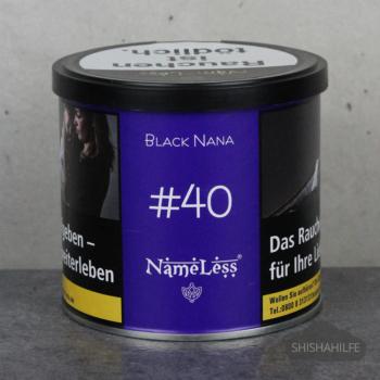 Nameless Black Nana