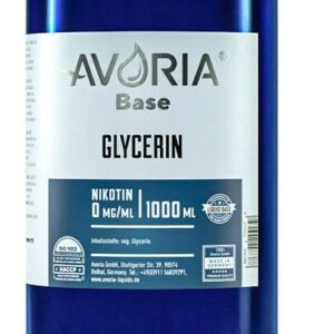 Base Glycerin beste Liquids